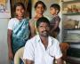 Mr J Prakash, family and DOTS Monitor